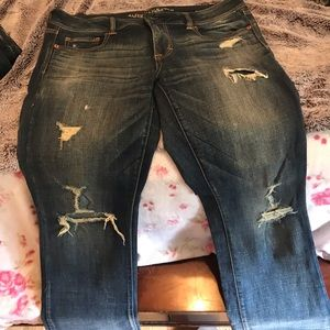American Eagle size 14 skinny kick jeans